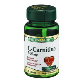 Natures Bounty L-Carnitine 500 mg
